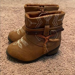 Other - Cowgirl boots infant size 5